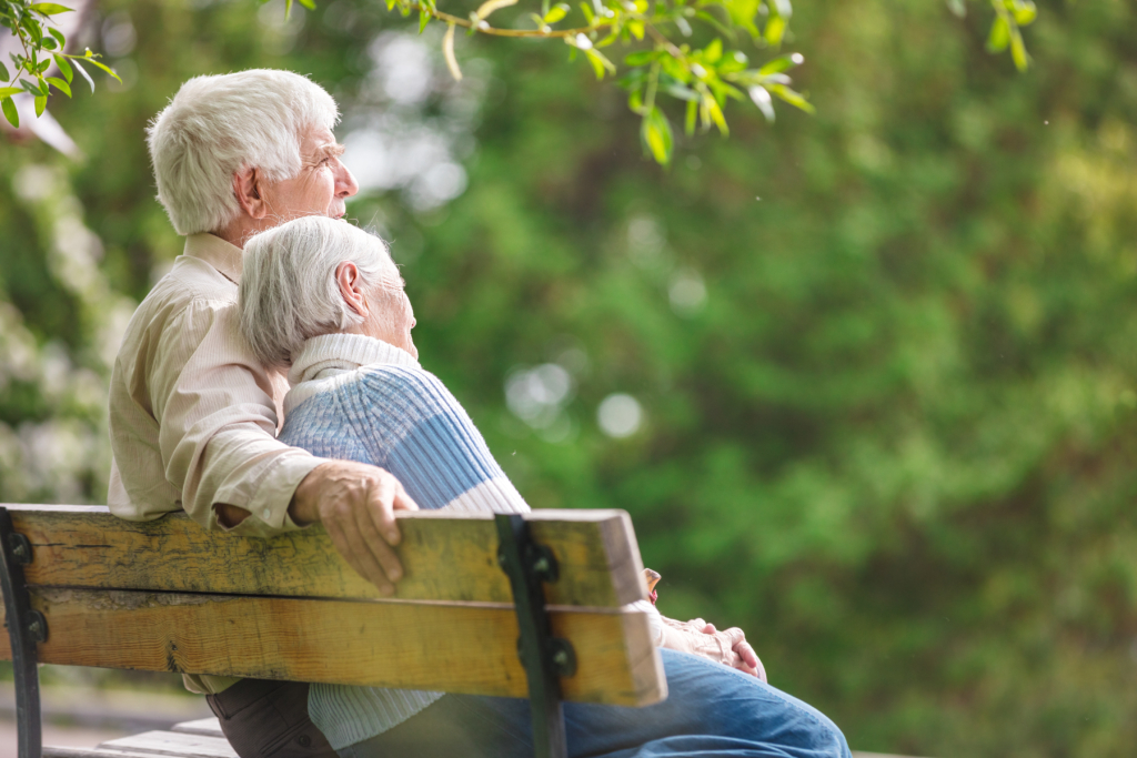 elderly-couple-on-bench